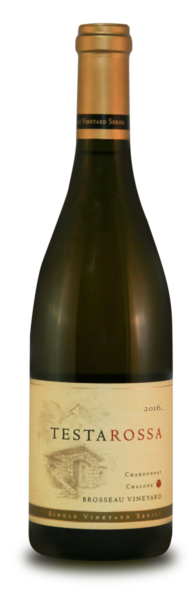 2016 Testarossa Brosseau Chardonnay bottle
