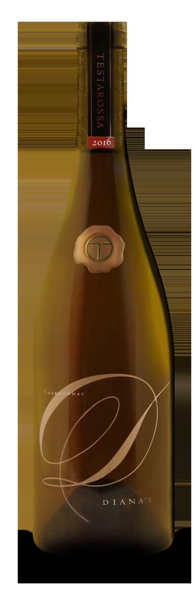 2016 Testarossa Diana's Chardonnay bottle
