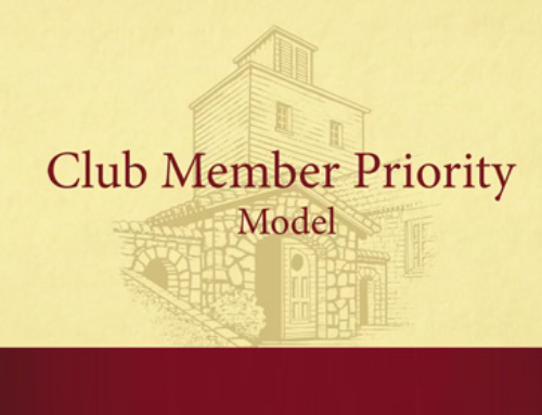Welcome to the Club Member Priority Model 2018