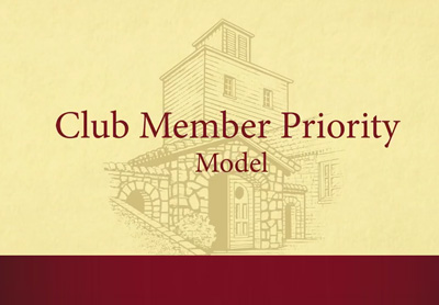 Testarossa Club Member Priority Model