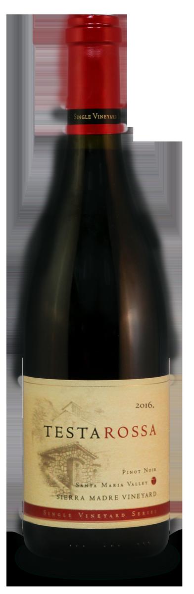 2016 Testarossa Sierra Madre Pinot Noir bottle