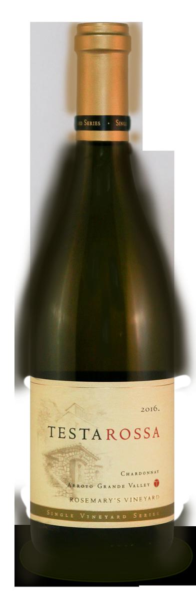 2016 Testarossa Rosemarys Chardonnay bottle