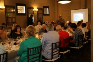 Wine Club Members enjoying a luncheon
