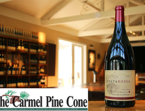 The Carmel Pine Cone Features Chef Nadiv & Testarossa Winery