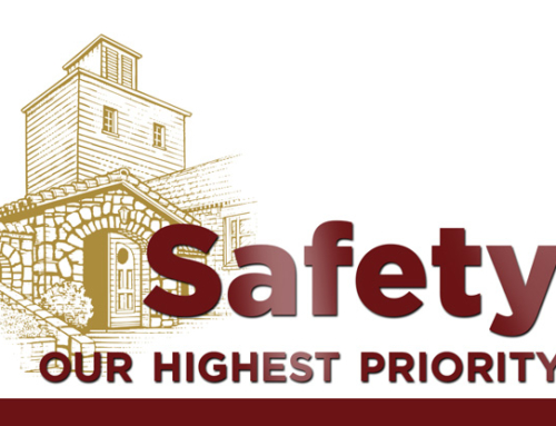 Safety is our highest priority