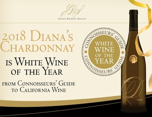Testarossa 2018 Diana's Chardonnay Awarded White Wine of the Year