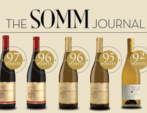 The SOMM Journal Gives Classic Scores to Central Coast Wines