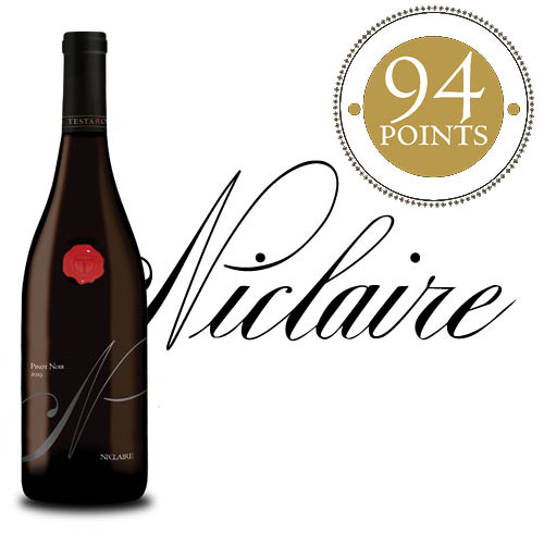 2019 Niclaire Pinot Noir