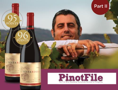 Part 2: Winemaker Bill Brosseau Works Magic at Testarossa Winery